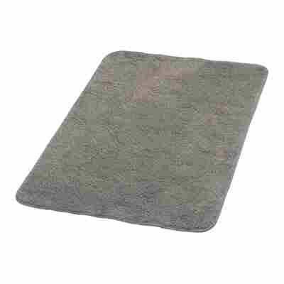 Badteppich 'Palma' grau 90 x 60 cm