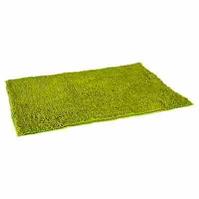 "Badteppich ""Soft"" hellgrün 85 x 55 cm"