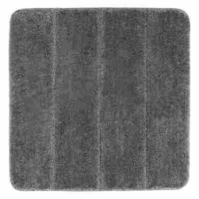 Badteppich 'Steps' Mouse Grey, 55 x 65 cm