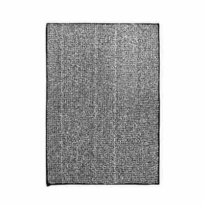 Badteppich 'Fresh' schwarz 60 x 90 cm
