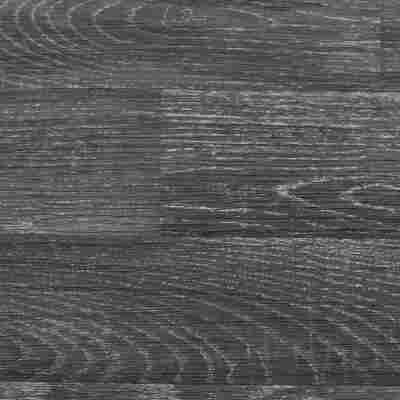 """Bodenbelag CV """"Hawaii"""" Holzdiele schwarz/silbern 4 m"""