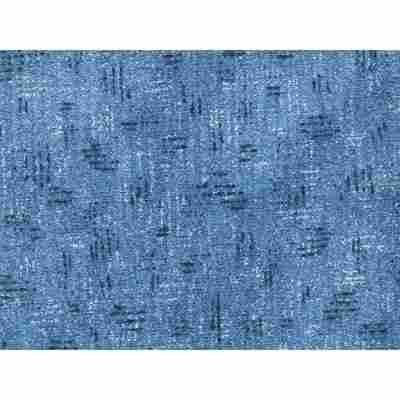 Druckschlingen-Teppich 'Robin' Meterware blau, Breite 5 m