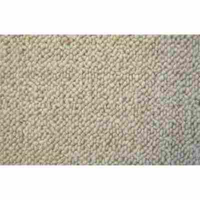 Berber Woll-Teppich 'Corsa' Meterware creme, Breite 4 m