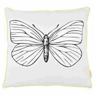 """Kissen """"Grafik"""" Butterfly 50 x 50 cm"""
