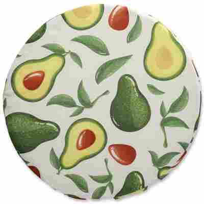 Sitzkissen 'Avocado' Ø 40 x 3 cm, 2 Stück