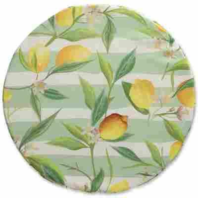 Sitzkissen 'Zitrone' Ø 40 x 3 cm, 2 Stück