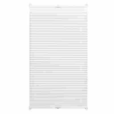 EasyFix Plissee weiß 90 x 130 cm