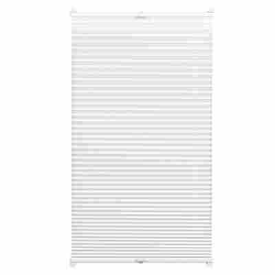 EasyFix Plissee weiß 100 x 130 cm