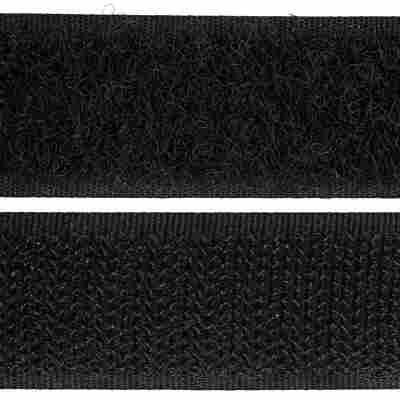 Haftverschluss 0,4 x 60 cm schwarz