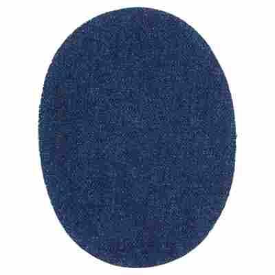 Flicken zum Aufbügeln oval blau