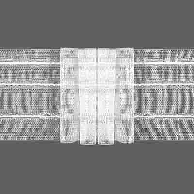 Gardinenband transparent 4 Falten 35,5 x 35 cm