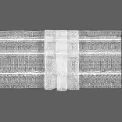 Gardinenband transparent 3 Falten 35,5 x 35 cm