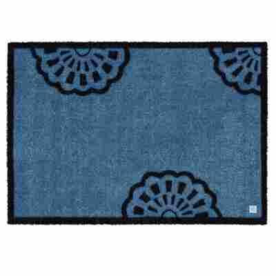 Fussmatte 67 x 170 cm Lace true blue BB