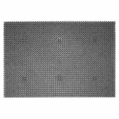 Allwettermatte grau 60 x 40 cm