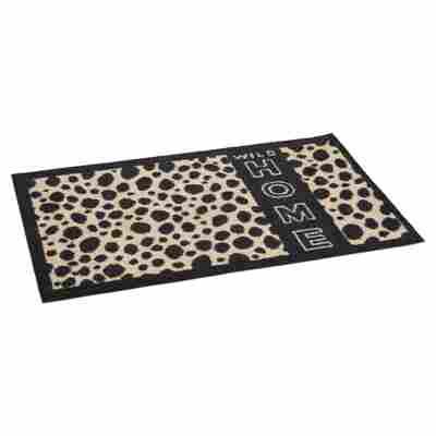 """Fußmatte """"Gepard"""" Polyamid hellbraun 58 x 39 cm"""