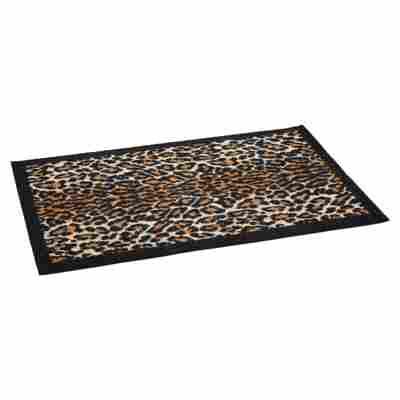 """Fußmatte """"Gepard"""" Polyamid braun 58 x 39 cm"""
