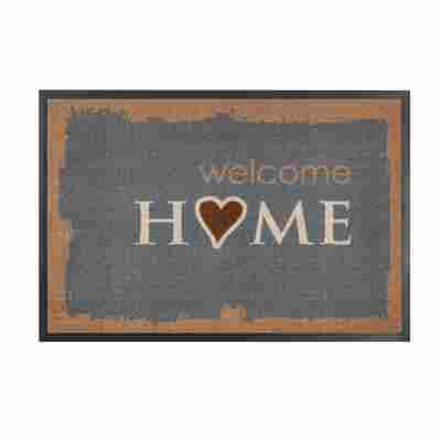 Schmutzfangmatte 'Homelike' 40 x 60 cm Home braun
