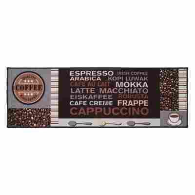 Fußmatte Café 50 x 150 cm braun-grau