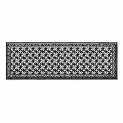 Schmutzfangläufer 'Miabella' 50 x 150 cm grau