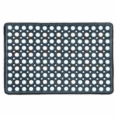 Fußmatte 'Profil' 40 x 60 cm schwarz