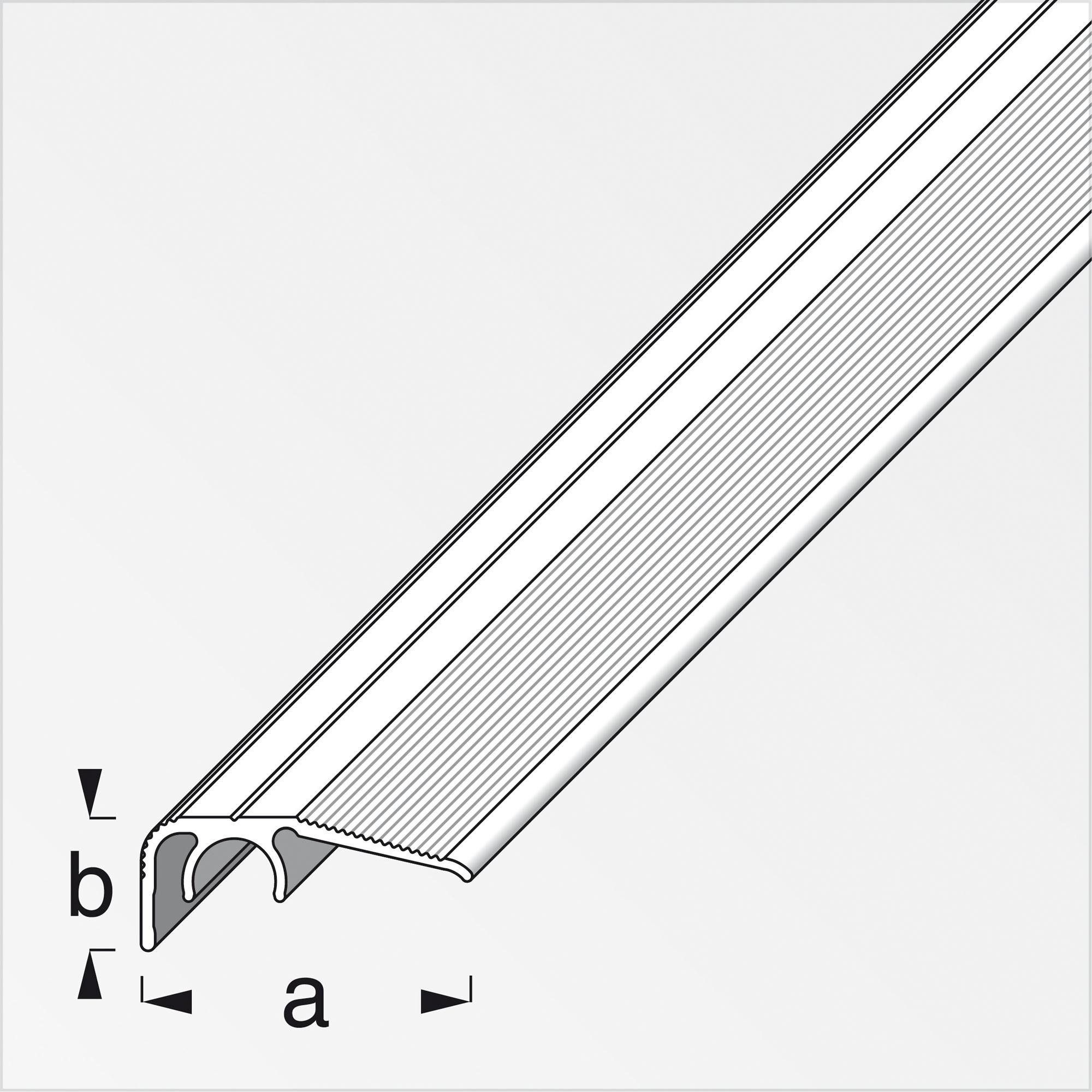 🥇 8,8 € Alfer Abschlussprofil 'clipstech®' Aluminium titanfarben ...