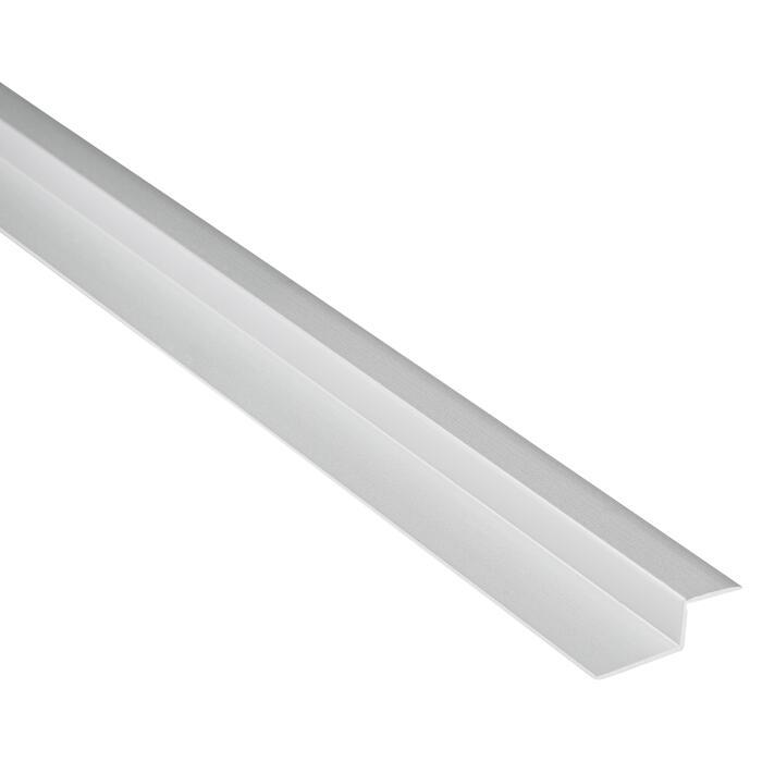 Abschlussprofil Clipstech Aluminium Silbern 1000 X 14 Mm ǀ Toom Baumarkt