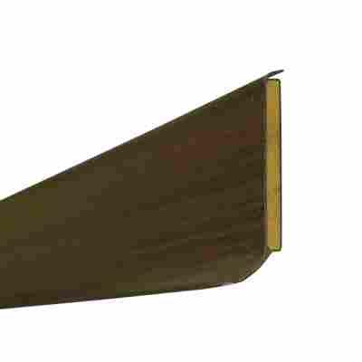 Kernsockelleiste 255 cm wengé