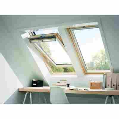 Schwingfenster GGL CK04 3070 Velux holzfarben