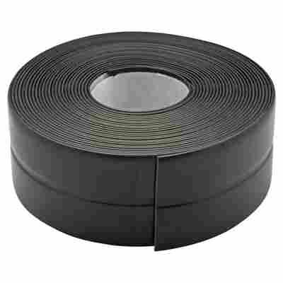 Knickwinkelleiste selbstklebend schwarz 1,8 x 1,8 x 500 cm
