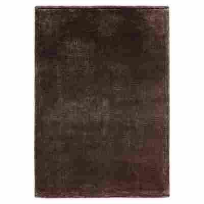"Teppich ""Soft-Shaggy"" 140 x 67 cm Braun"