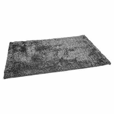 Teppich BB Shaggy 200 x 140 cm grau
