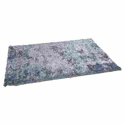 Teppich BB Shaggy 200 x 140 cm blau