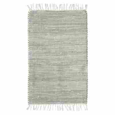 """Teppich """"Kentucky"""" grün 60 x 120 cm"""