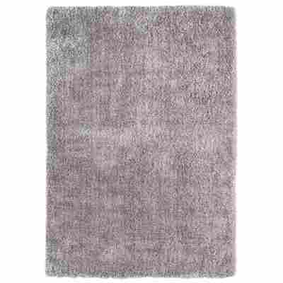 "Reinkemeier Teppich ""Manarolo"" silbern 135 x 63 cm"