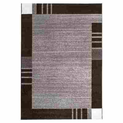 "Teppich ""Grasse"" 67 x 140 cm grau"