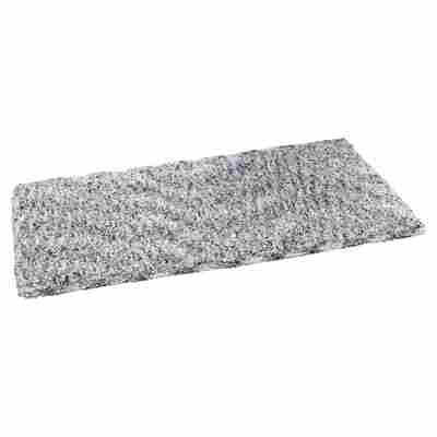 """Teppich """"Wellness"""" 140 x 70 cm weiß-grau"""