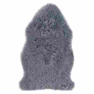 Schaf-Fell 85 x 60 cm dunkelgrau