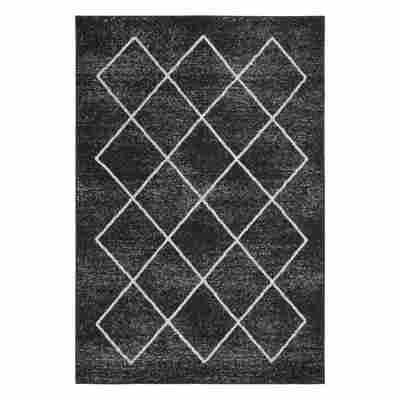 Teppich 'Bolonia' 60 x 110 cm anthrazit