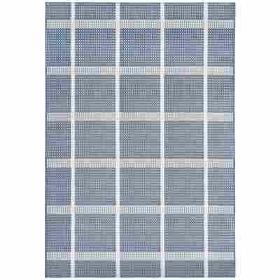 Outdoor-Teppich blau 180 x 120 cm
