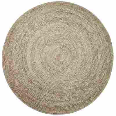 Teppich 'Wash+Store 6512' beige Ø 100 cm