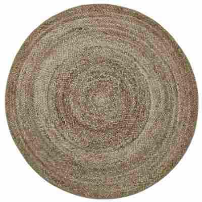 Teppich 'Wash+Store 6541' braun Ø 100 cm