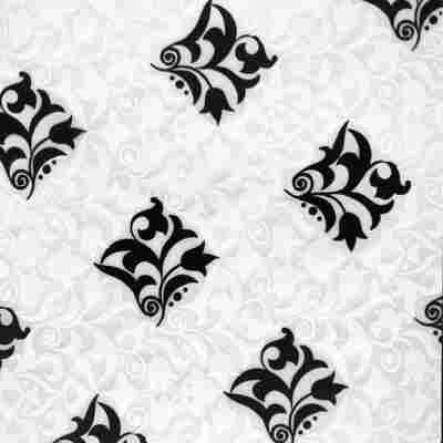 Flächenvorhang 'Retro' mit Flower-Motiv 60 x 245 cm