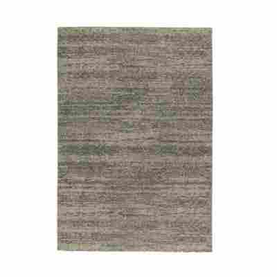 Teppich 'Samoa' 67 x 130 cm melange grau