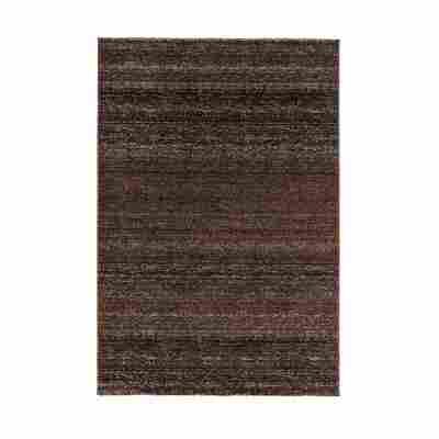 Teppich 'Carpi' 60 x 110 cm dunkelbraun