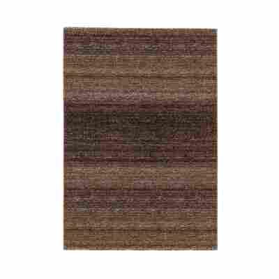 Teppich 'Carpi' 133 x 190 cm braun
