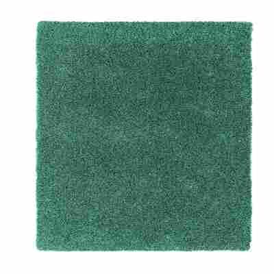 Hochflor-Teppich 'New Feeling' 140 x 200 cm mint