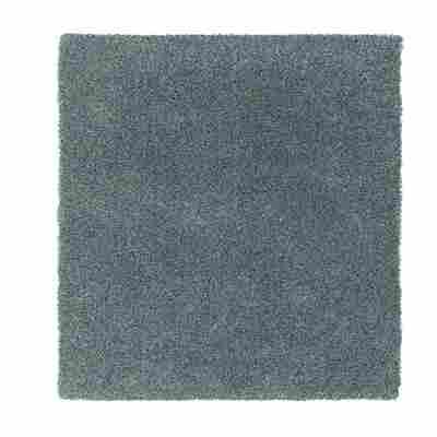 Hochflor-Teppich 'New Feeling' 200 x 300 cm silber