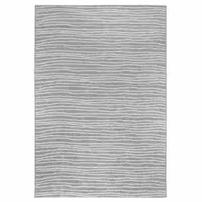 Teppich 'Bolonia' grau 60 x 110 cm