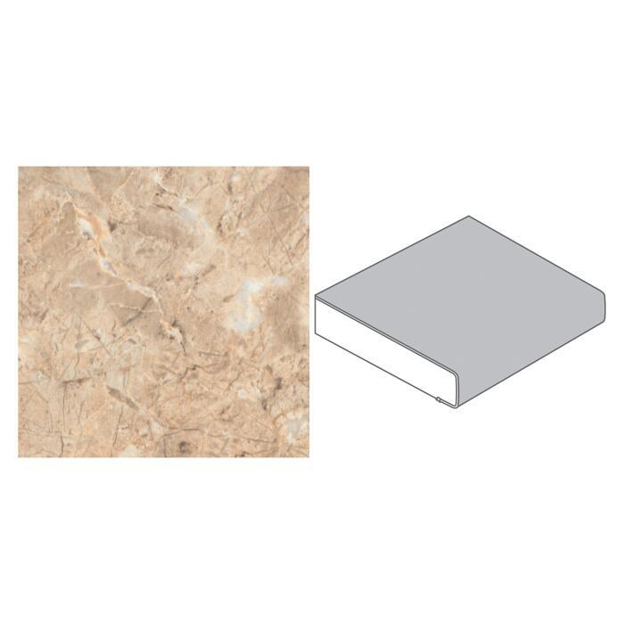 Getaelements Kuchenarbeitsplatte 4100 X 600 X 39 Mm Marmor Alhambra Beige ǀ Toom Baumarkt