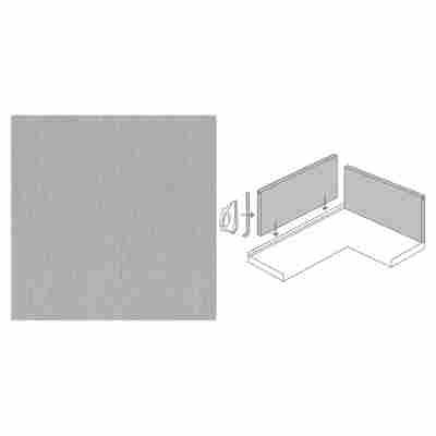 "Rückwand-System-Set ""GetaLit"" 3-tlg. 1480 x 585 x 13,4 mm grau"